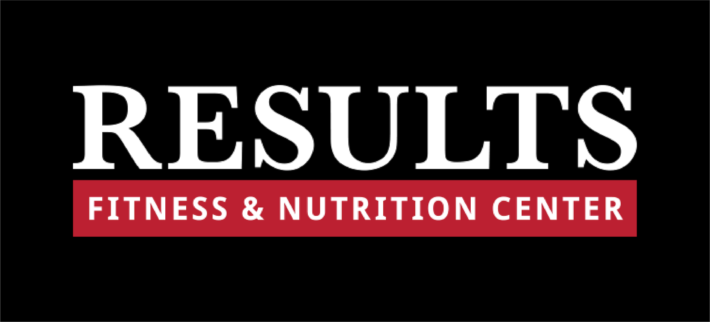 results fitness web logo